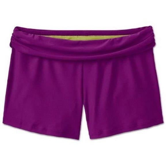 0fcf014e09 Athleta Swim | Splash Short Violet Large | Poshmark